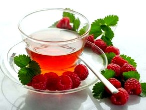 Чай с малиной - одно из лучших лекарств от температуры  Все о чае - Чаепедия