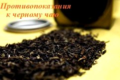 Черный чай - противопоказания
