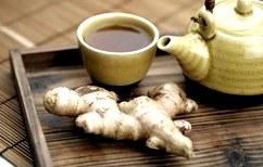 Худеем с помощью имбирного чая с чесноком