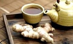 Рецепт чая с имбирем и его польза. Имбирный чай
