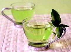 Зеленый чай оказывает положительное влияние на кровь