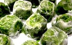 Лёд из зеленого чая (кубики льда)