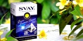 Чай SVAY - описание торговой марки
