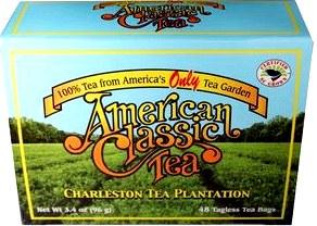Американский чай, история появления чая в США