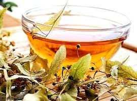 Липовый чай в бане