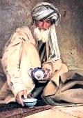 Чай по-афгански с имбирем