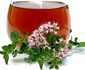 Тонизирующий чай с майораном