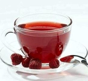 Чай ванильный с малиной