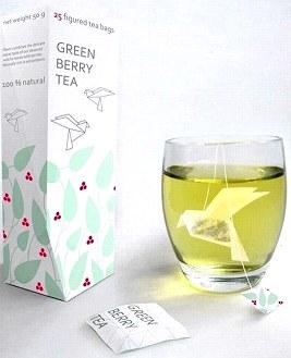 Веселые чайные пакетики